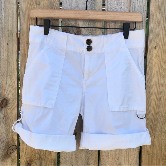 Anthropologie Pants - Sanctuary | Getaway White Shorts Size 27